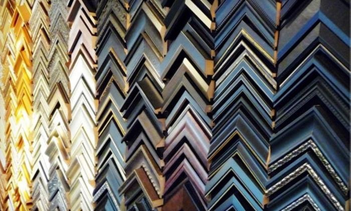 Sam's Art and Framing - East Flushing: $49 for $100 Worth of Custom Framing at Sam's Art & Framing in Flushing