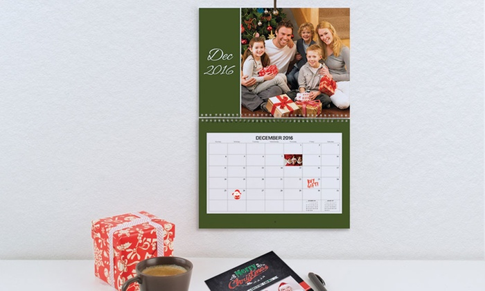 "Photobook Canada: One, Two, or Five 12""x12"" Wall Calendars from Photobook Canada (Up to 83% Off)"