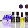 UV-Nails Salon-Quality Gel Polish Set with LED Lamp
