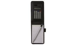 Pocket Notebook and Calculator