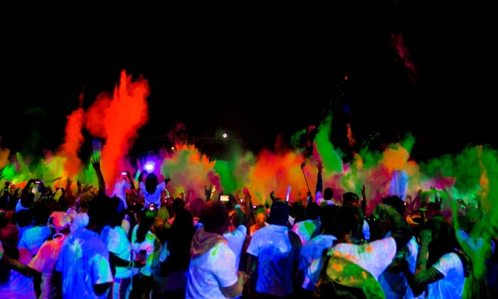 Blacklight Run - Wildflower Area: 5K Blacklight Run for One on Saturday, March 15 (Up to 52% Off)