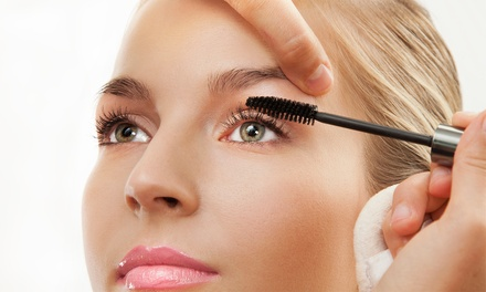Makeup Application with Optional Mini Facial at KristalRock Salon Spa (Up 42% Off)