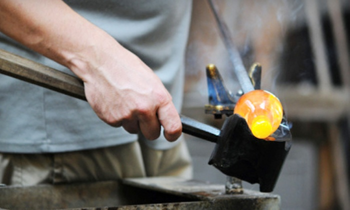 Half Moon Bay Art Glass - Half Moon Bay: Glass-Blowing Class for One or Two at Half Moon Bay Art Glass (Up to 54% Off)