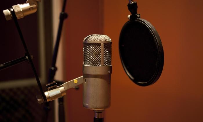 Encoure Studios - City of Orange: One Hour of In-Studio Recording from Encoure Studios - Recording, Photography, Video, Parties (45% Off)