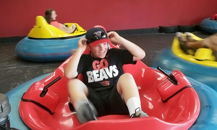 Jabbersons Fun Center - Milwaukie Heights: Two Bumper Car Rides Each and 100 Prize Tickets for Two or Four at Jabbersons Fun Center (50% Off)
