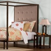 King's Way Canopy Bed with Benches
