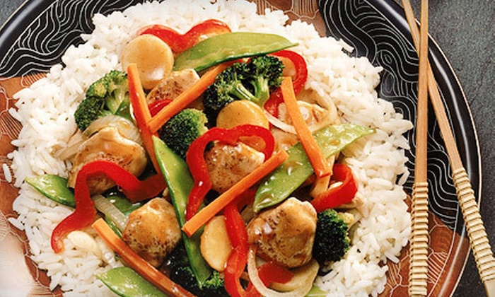 Sizzling Wok - Far North Central: Chinese Meal for Two or Four at Sizzling Wok (Up to 59% Off)