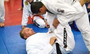 Gracie Jiu Jitsu Las Vegas: $51 for One Month of Unlimited Martial Arts Classes at Gracie Jiu Jitsu Las Vegas (Up to $200 Value)