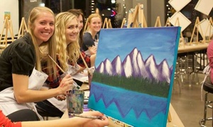 Whimsy Paint and Sip: $28 for One Adult Painting Class at Whimsy Northfield Paint and Sip ($45 Value)
