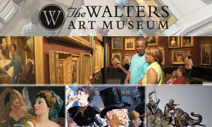 Walters Art Museum - Mount Vernon: $25 for One Individual Membership to The Walters Art Museum