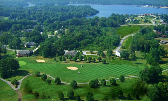Lake Tansi Village Golf Club - Lake Tansi: $47 for a Golf Outing for Two with Cart and Practice Balls at Lake Tansi Village Golf Club in Crossville (Up to $94 Value)