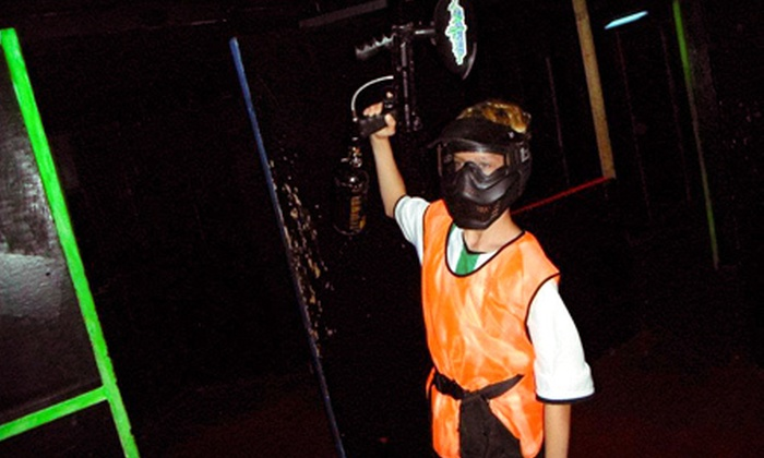 Tagzone - Lindenlea - New Edinburgh: Paintless Indoor Paintball with Equipment and Unlimited Ammo for One, Two, or Four at Tagzone (Up to 55% Off)