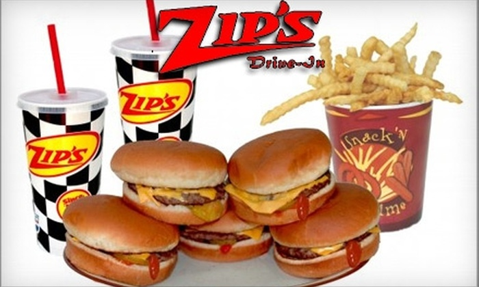 Zip's Drive-In - Multiple Locations: $3 for $6 Worth of Diner Fare at Zip's Drive-In in Cheney and Airway Heights