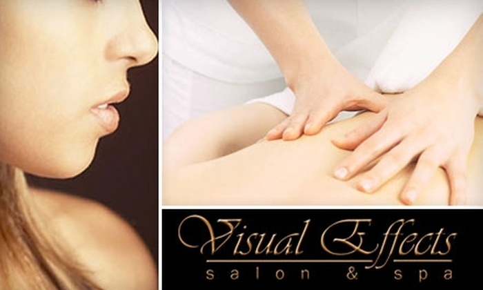 Visual Effects - Boise City: $25 for Your Choice of a Facial, Body Scrub, or Microdermabrasion Treatment from Visual Effects (Up to $65 Value)