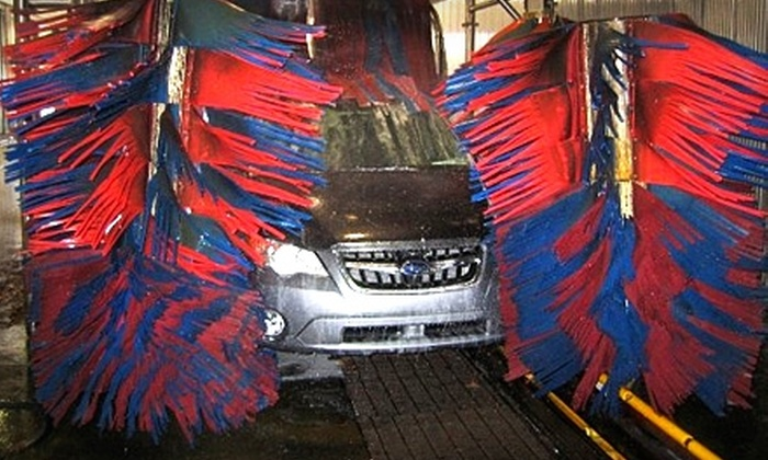 Waves Car Wash - West Roxbury: $50 for a 100-Day Pass for Unlimited Extreme Car Washes at Waves Car Wash in West Roxbury ($116 Value)