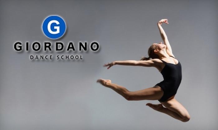 Giordano Dance School - Evanston: $50 for 10 Classes at Giordano Dance School in Evanston ($140 Value)