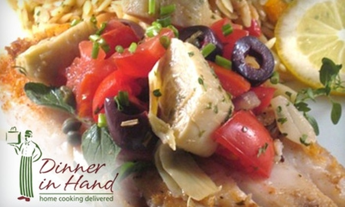 Dinner in Hand - Westchester County: $17 for $35 Worth of Delivered Meals from Dinner in Hand