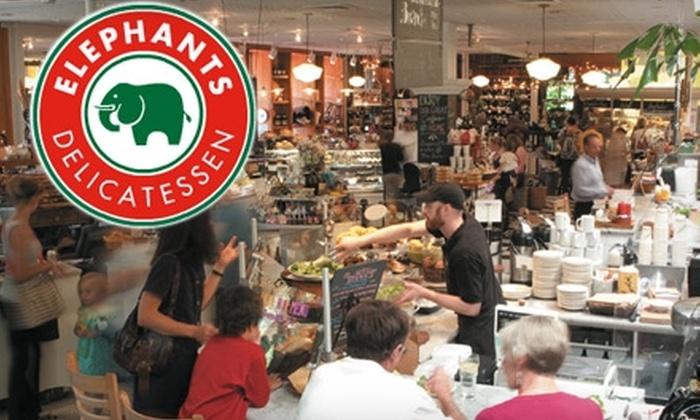 37769bf9ed8a3 53% Off at Elephants Delicatessen - Elephants Delicatessen
