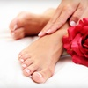 Up to 54% Off Deluxe Pedicure or Manicure Package