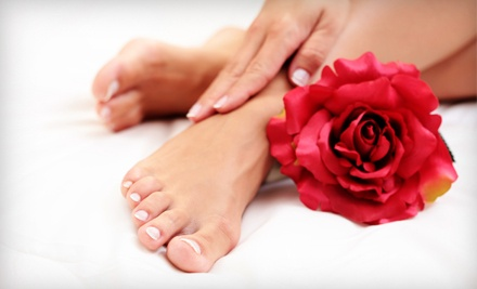Deluxe Pedicure (a $55 value) - Bling Nails & Beauty Lounge in Vancouver