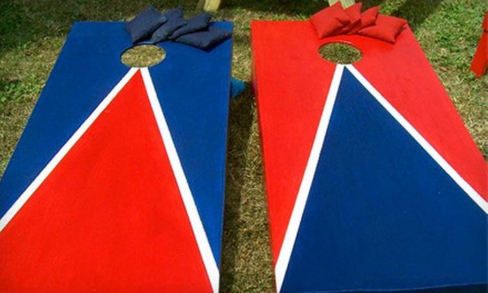 Davis Family Creations - Chesapeake Beach: $135 for a Custom Tailgater Cornhole Set from Davis Family Creations ($285 Value)