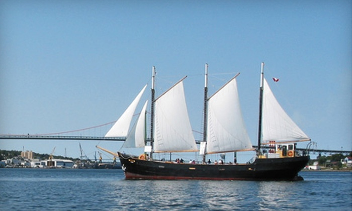 """Tall Ship Silva"" - Halifax: C$18 for Harbour Cruise (Up to $39.90 Value) or Family Harbour Cruise ($58.95 Value) on the ""Tall Ship Silva"""