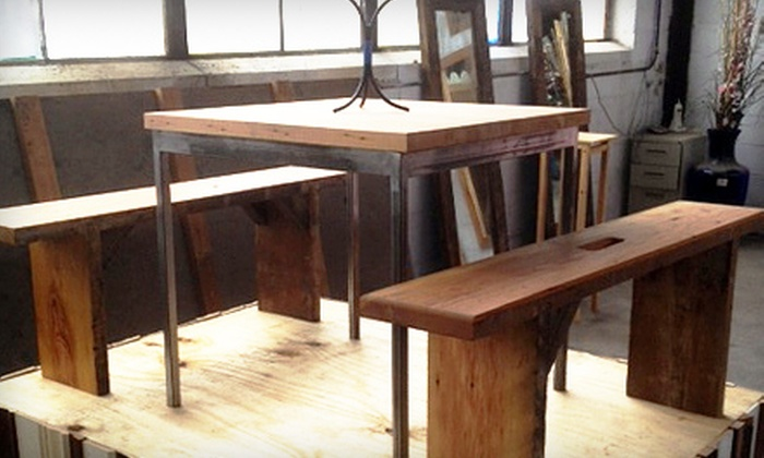 ReBuilding Exchange - North Side: Make-It/Take-It Salvage Furniture–Making Workshop for One or Two at ReBuilding Exchange (Up to 59% Off)