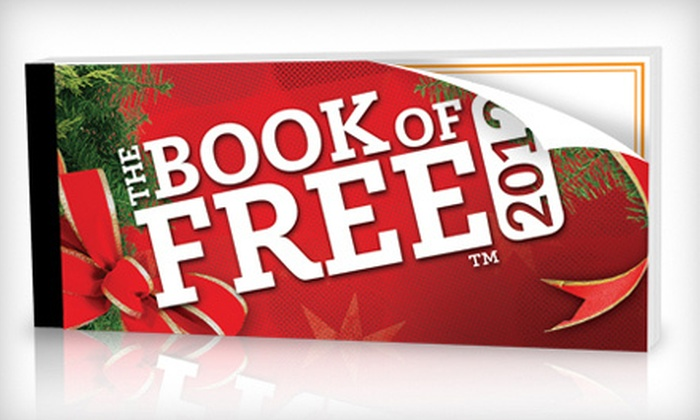 Book of Free: $24 for a Book of Free Certificate Book Including Shipping ($55.99 Value)