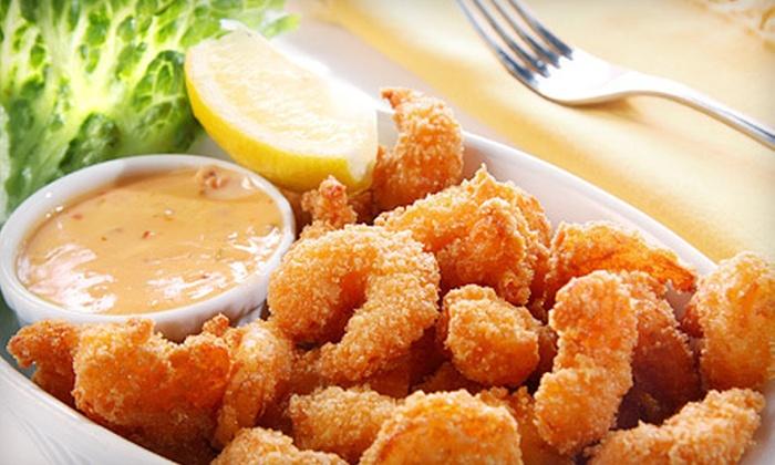 Pier 221 Seafood Restaurant - Sugar Creek: $15 for $30 Worth of Seafood at Pier 221 Seafood Restaurant in Spartanburg