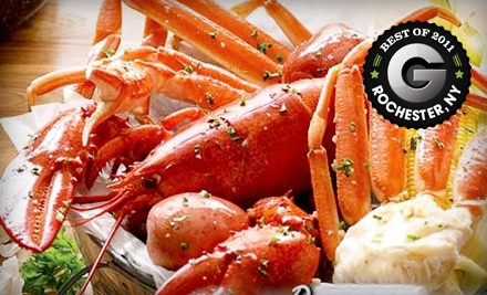 $20 Groupon to Crab Shack  - Crab Shack in Rochester