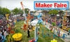 World Maker Faire - Flushing Meadows Corona Park: Half Off Ticket to World Maker Faire Festival at the New York Hall of Science on Sept. 25–26 (Up to $50 Value). Four Types of Admission Available.