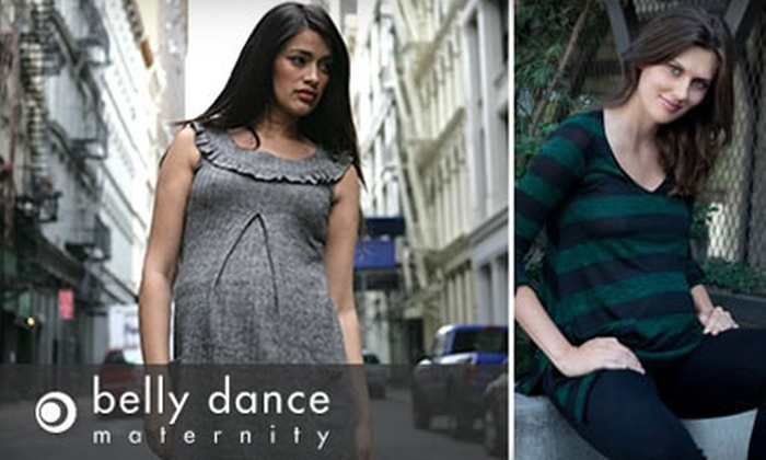 Belly Dance Maternity: $25 for $50 Worth of Maternity and Nursing Clothing from Belly Dance Maternity
