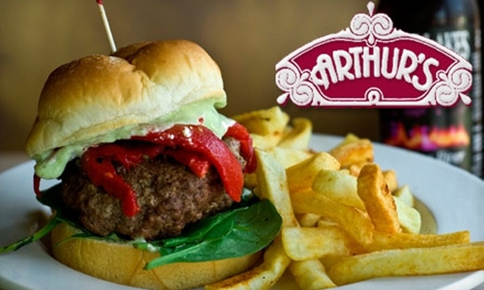 Arthur's - Hyde Park: $10 for $20 Worth of Burgers, Beer, and More at Arthur's