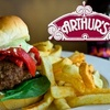 $10 for Burgers and More at Arthur's