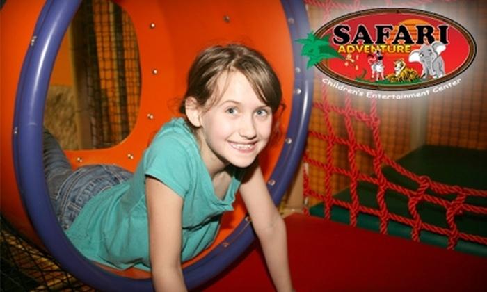 Safari Adventure - Riverhead: Half Off Open-Play Admission at Safari Adventure in Riverhead. Choose Between Two Options.