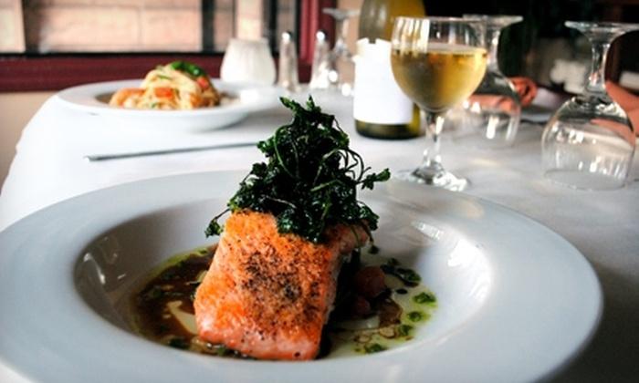 Saggio Restaurant  - Centennial: Upscale Italian Dinner or Lunch Fare at Saggio Restaurant in Redwood City