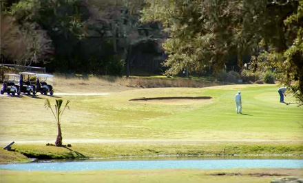 One Day of Unlimited Golfing with a Cart Rental for 2 People (a $155.88 value) - Canyon Lake Golf Club in Canyon Lake