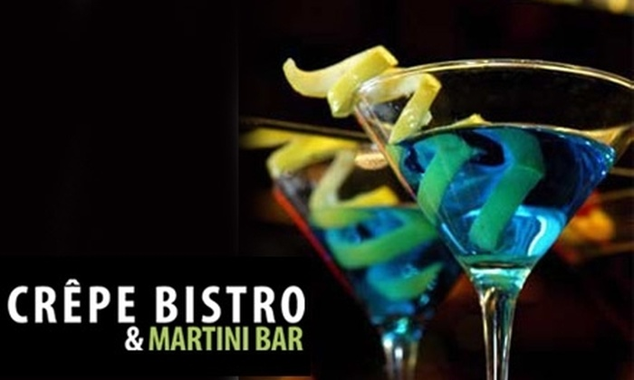 Crêpe Bistro & Martini Bar - Loop: $15 for $30 Worth of Crêpes and More at Crêpe Bistro & Martini Bar