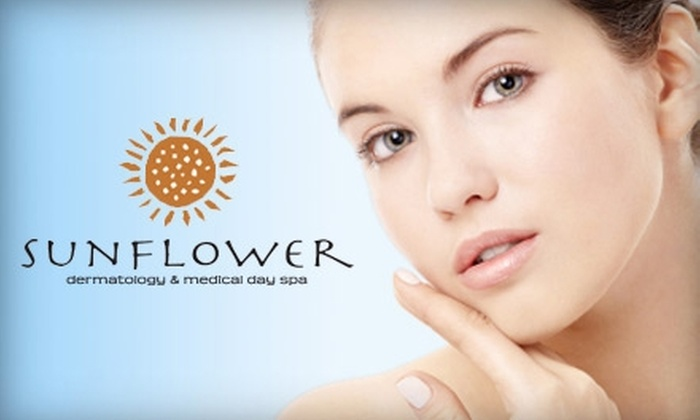 Sunflower Dermatology & Day Spa - Riverside: $35 for One Deep Pore-Cleansing or Anti-Aging Facial from Sunflower Dermatology and Day Spa ($75 Value)