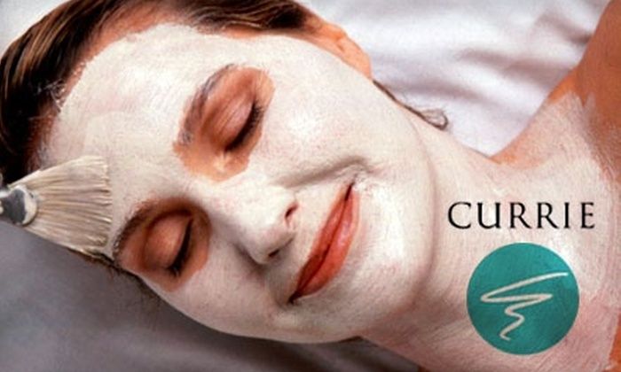 Currie Hair, Skin & Nails - Multiple Locations: $45 for One Recovery Facial, Ultimate Hydra Facial, Calming Facial, or Aromatherapy Massage at Currie Hair, Skin & Nails