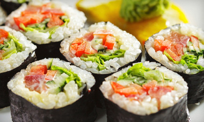 Eight Piece - Vernon: $8 for $16 Worth of Create-Your-Own Sushi, Salad, and Soup at Eight Piece in Vernon Hills