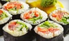 Eight Piece Sushi - Vernon: $8 for $16 Worth of Create-Your-Own Sushi, Salad, and Soup at Eight Piece in Vernon Hills