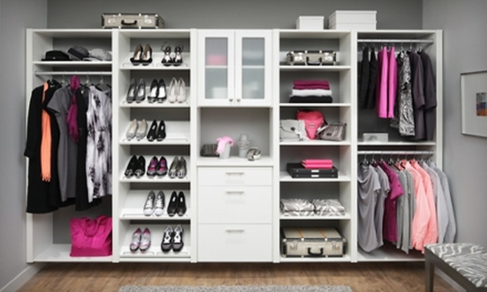 Closet Classics - Boston: $100 for $250 Toward Custom-Closet System from Closet Classics