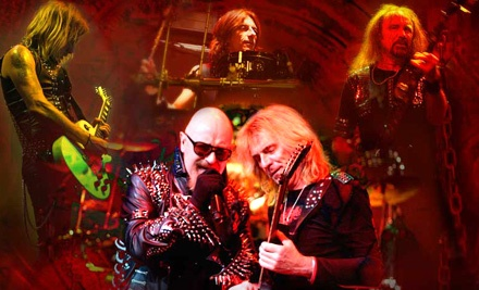 Judas Priest on Tues., Oct. 25 at 6PM: Sections 107-110, 202-204, or 213-215 - Judas Priest in Bakersfield