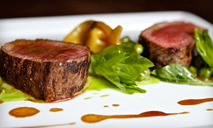 Tenpenny - Midtown,Midtown South,Midtown West,Murray Hill,Tenderloin,Theatre District: $60 for an Upscale American Dinner for Two with Appetizer, Entrees, Dessert, and Bottle of Wine at Tenpenny (Up to $136 Value)