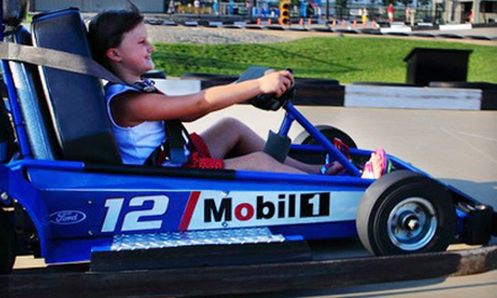 Sugar Grove Family Fun Center - Sugar Grove: Two or Four Go-Kart Rides and Mini-Golf Rounds at Sugar Grove Family Fun Center (Half Off)