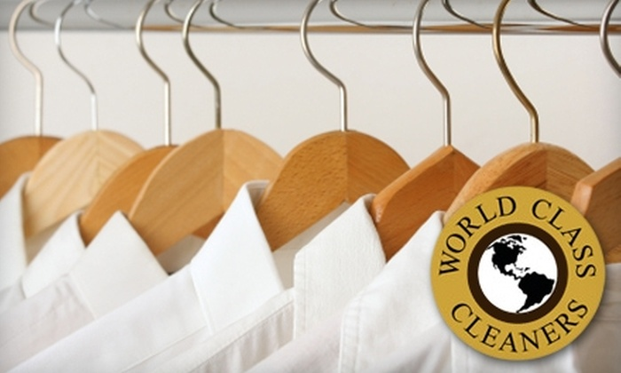 World Class Cleaners - Greenwich Village: $15 for $30 Worth of Dry-Cleaning Services from World Class Cleaners