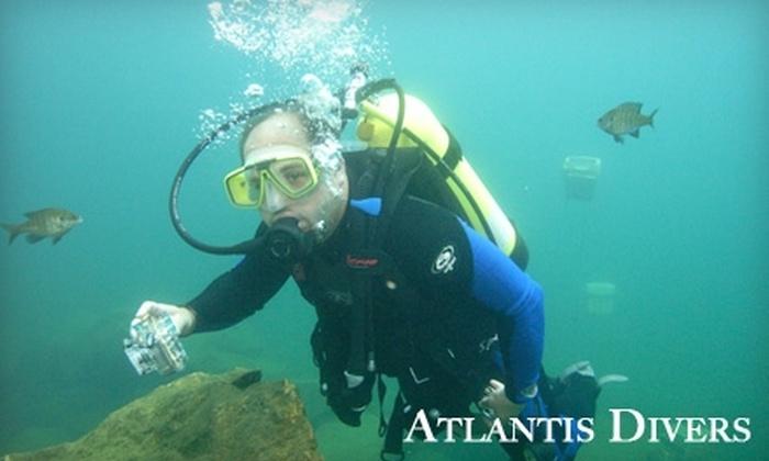 Atlantis Divers - 1: $15 for Discover Scuba Class at Atlantis Divers Virginia