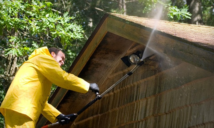 Coastal Cleaning - Hampton Roads: Home Pressure Washing for Up to 2,000 or 2,500 Sq. Ft., or Deck Pressure Washing from Coastal Cleaning (Up to 63% Off)