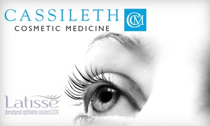 Cassileth Cosmetic Medicine - Los Angeles: $60 for an Eyelash-Lengthening Latisse Treatment Kit from Cassileth Cosmetic Medicine